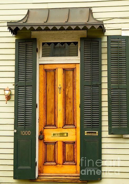New Orleans Louisiana Doorway French Quarter Front Door Designs