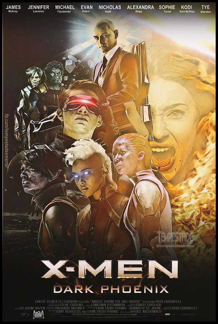 2019 Regarder X Men Phenix Noir Film Complet Hd 4k X Men Film Films Complets X Men