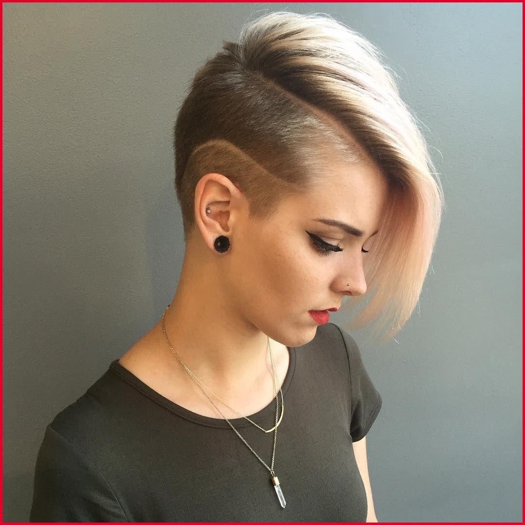 50 Cool Female Haircuts Half Shaved Hair Shaved Hair Thick Hair Styles