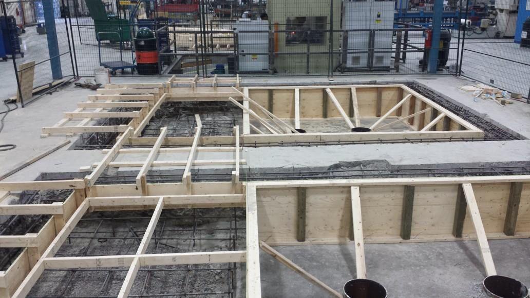 Toronto Machine Foundation Construction