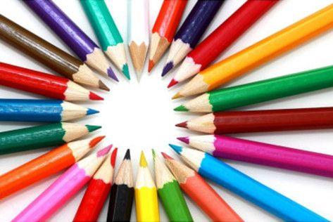 Pencils (Circle of Colors) Art Poster Print Posters at AllPosters.com