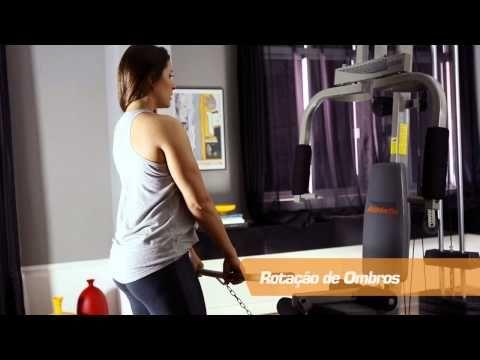 Guia de exercícios da Estação de Musculação Athletic Advanced 280M - YouTube