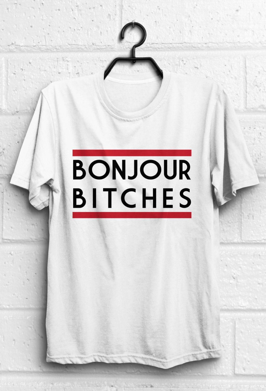 72c280e2e89 Bonjour shirt