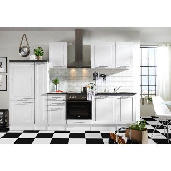 Küchenblock in Weiß - schafft ein elegantes Ambiente Küchenblöcke