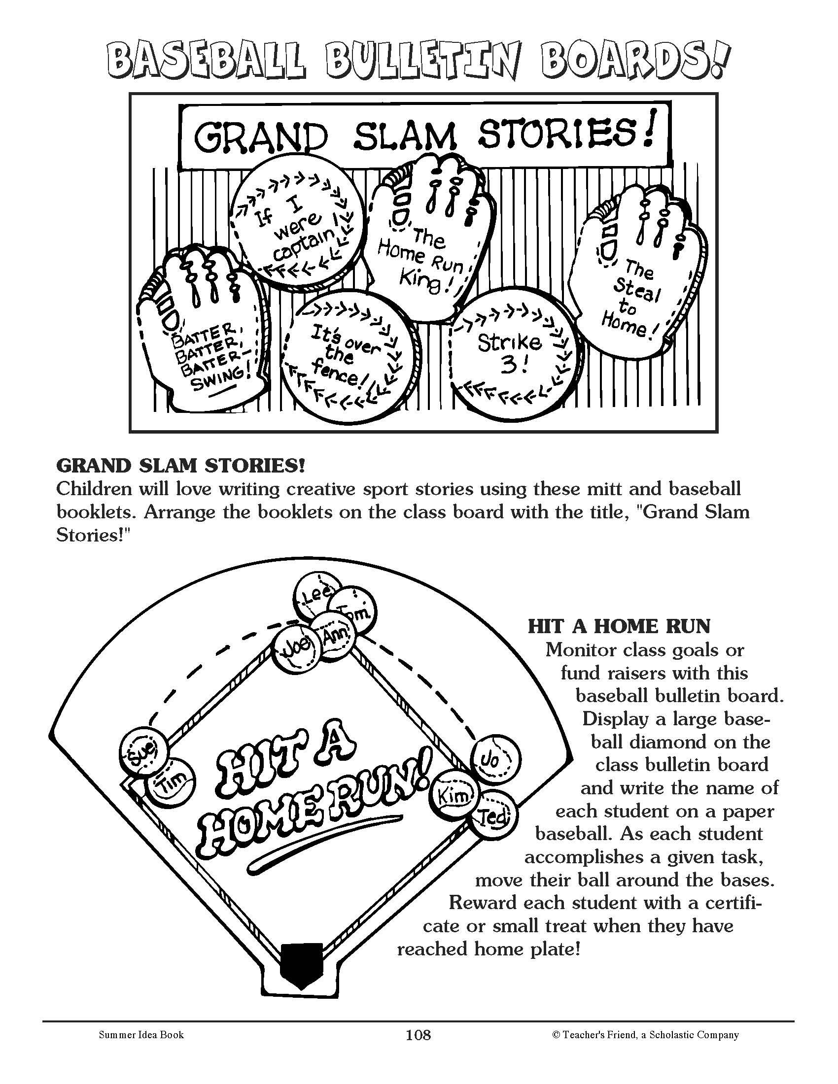 Get Students Excited For Spring With These Fun Baseball