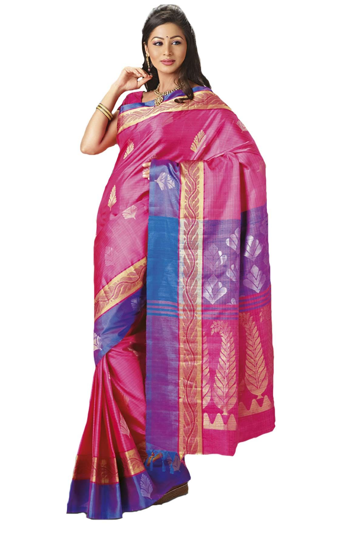 Saree images paithani mesmerizing multi colour pure silk zari weaved saree in purple