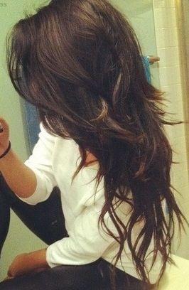 30++ Choppy layers long hair inspirations