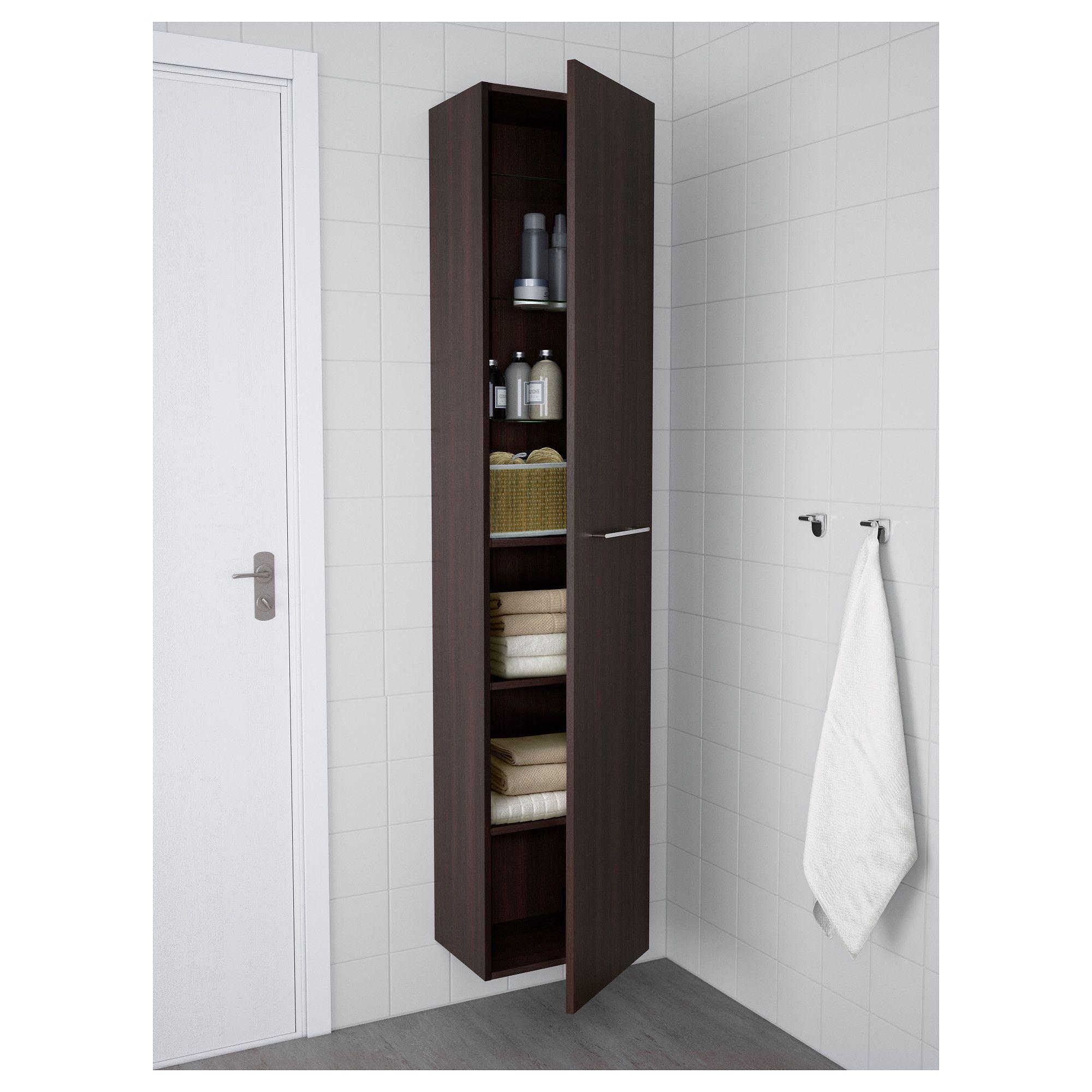 Ikea Godmorgon High Cabinet Black Brown Hochschrank Schrank Und Ikea Lillangen