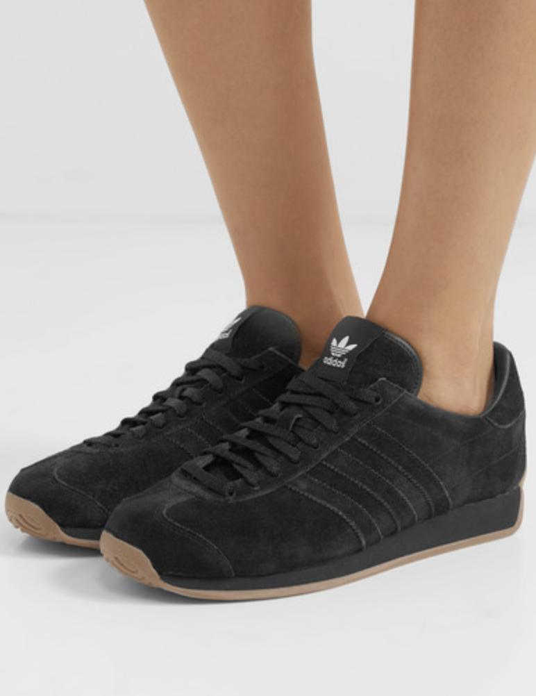 Adidas Originals Suede Sneakers