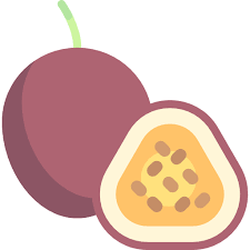 Passion Fruit Free Vector Icons Designed By Freepik In 2020 Fruit Vector Vector Icon Design Fruit Icons