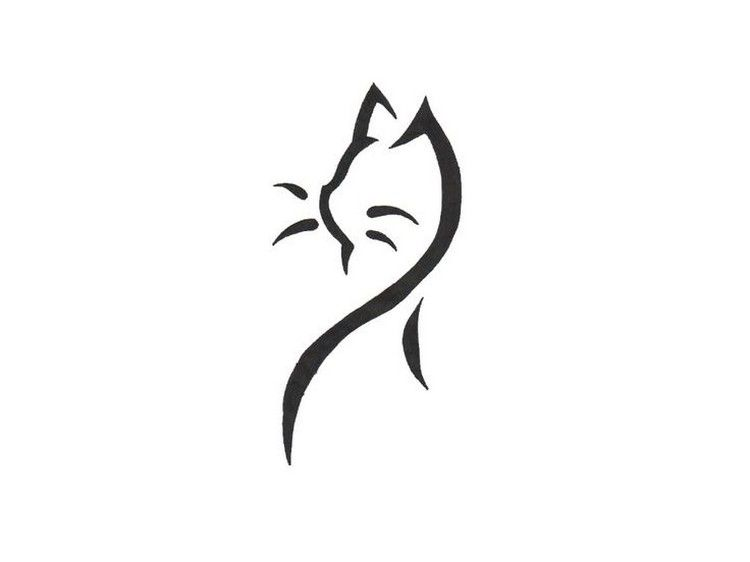Tatouage chat original en styles vari s 39 id es cr atives pinterest katzen tattoo tattoo - Tatouage chat original ...