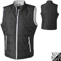 Photo of Ladies quilted vest with Thinsulate padding | James & Nicholson James & Nicholson