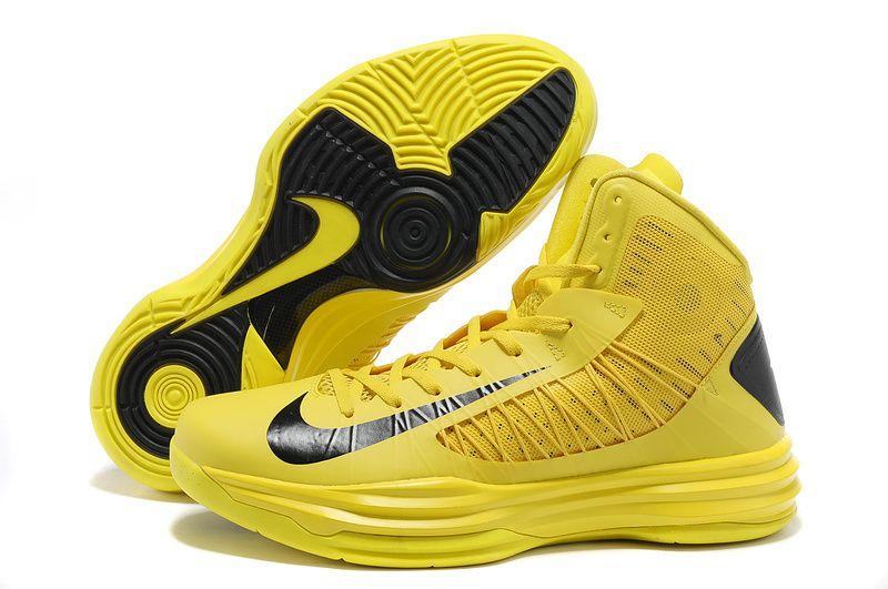 buy popular 17754 7d08b Nike Lunar Hyperdunk X 2012 Yellow Black