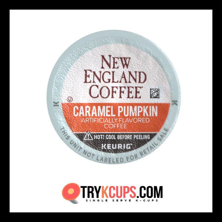 New England Coffee • Caramel Pumpkin KCup Flavor