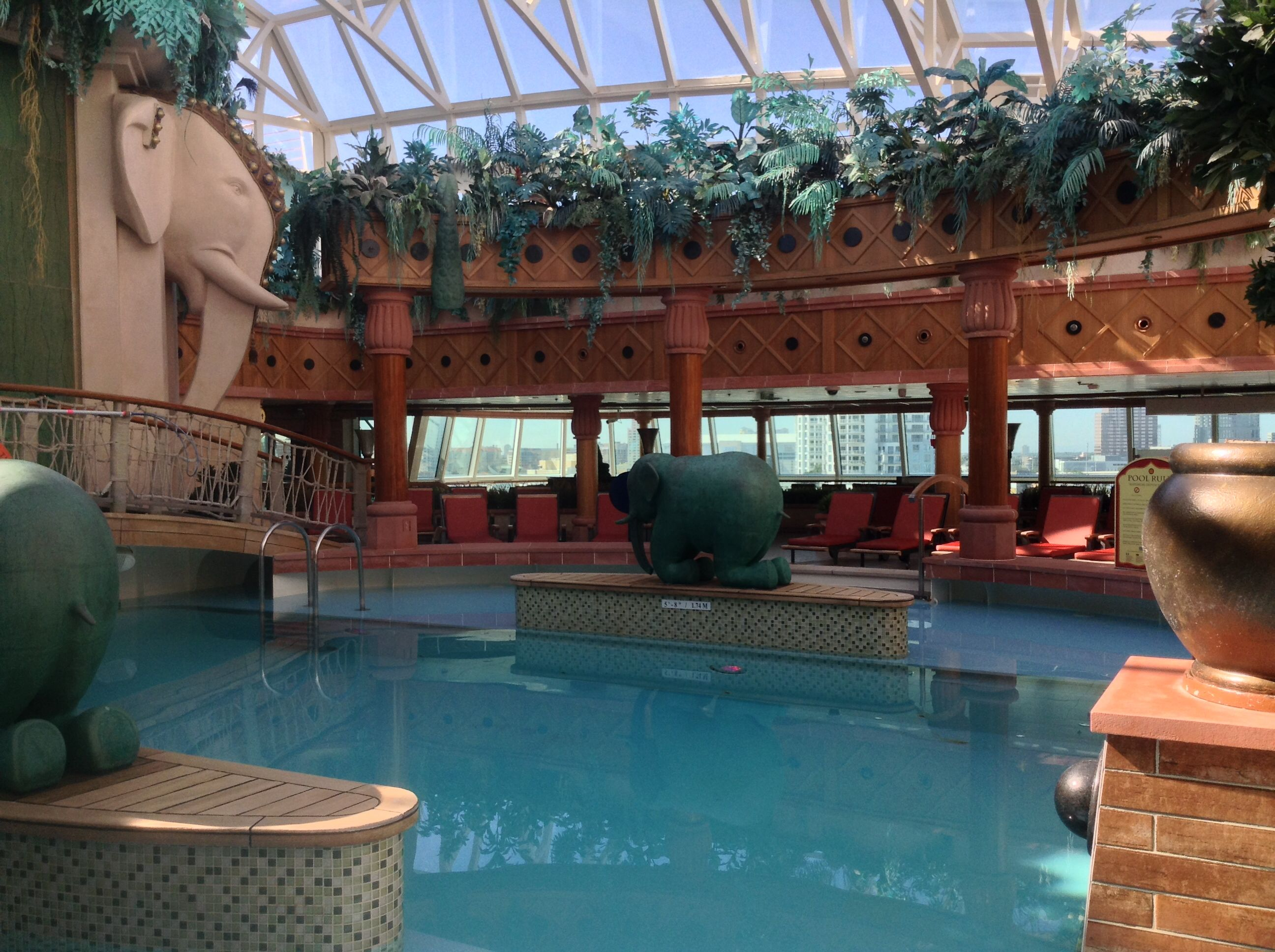 Royal Caribbean Brilliance Of The Sea  Solarium Adult Only Area  Cruise