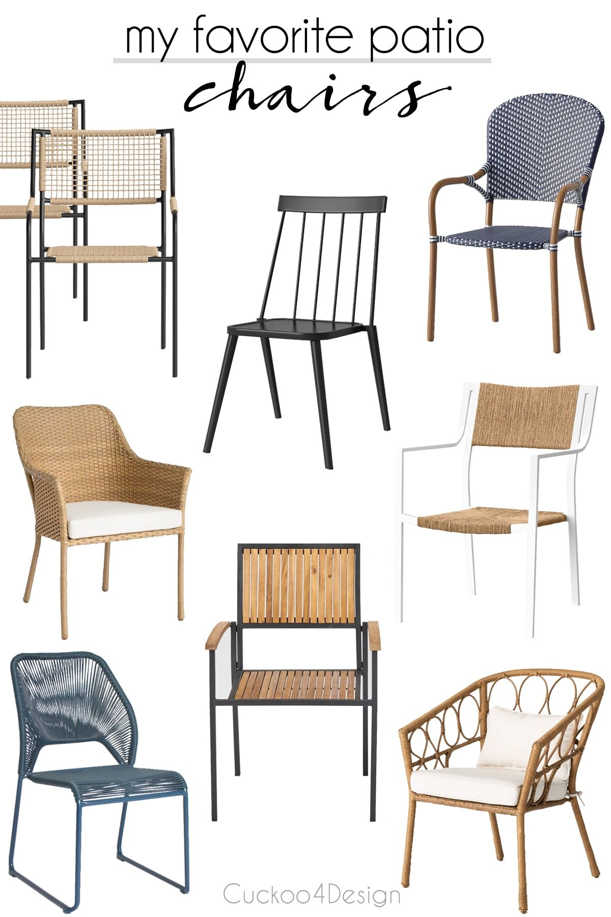 Mix And Match Patio Furniture Tips In 2020 With Images