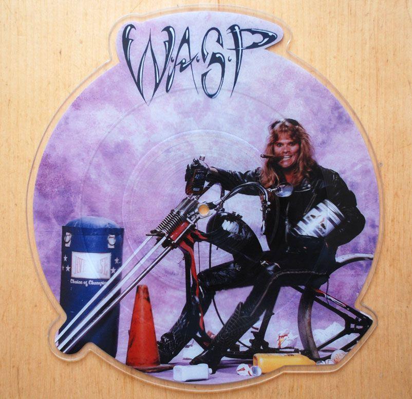 W.A.S.P. – Mean Man shaped picture disc vinyl