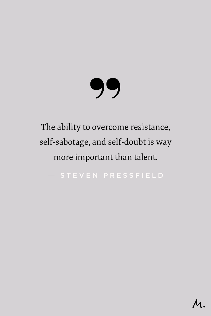 Steven Pressfield: Why Overcoming Resistance Beats Talent