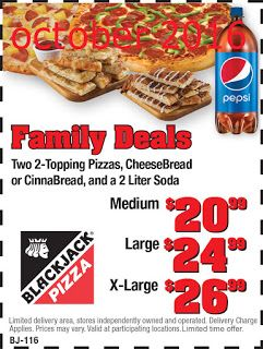 Blackjack pizza coupons codes bingo online no deposit free play