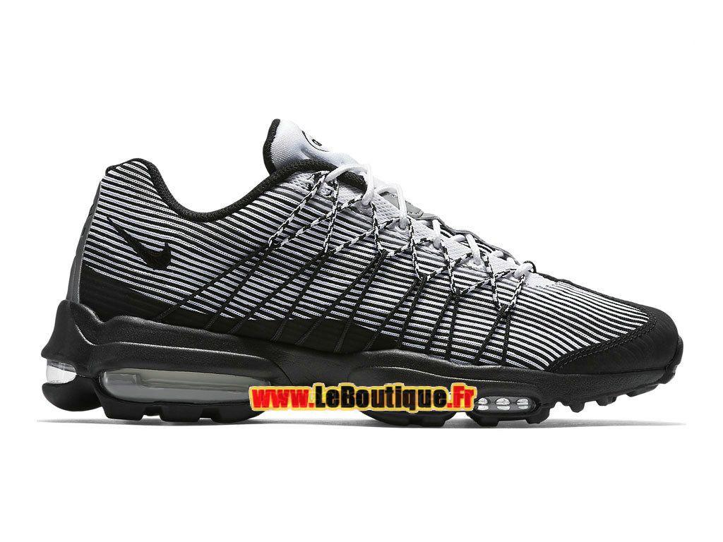 online retailer 13a30 28575 Nike Air Max 95 Ultra Jacquard - Chaussure Nike Sportswear Pas Cher Pour  Homme Blanc