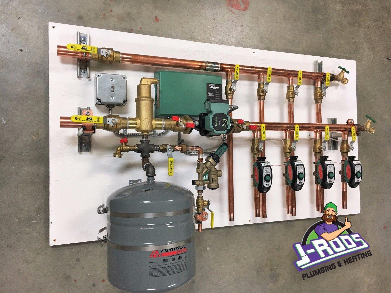 Radiant Heat Boiler Control Panel 4 Zone Radiant Heat Home Appliances Home Improvement
