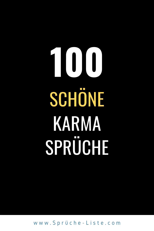 Photo of 100 Schöne Karma Sprüche