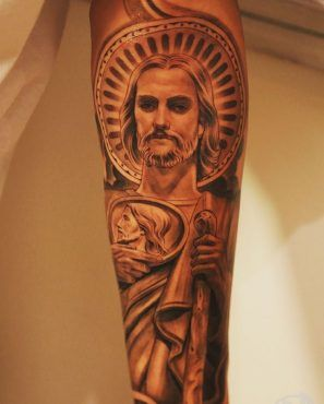 Tatuajes Sa Judas Tadeo 5 Tattoo Ideas Tattoos Sleeve Tattoos