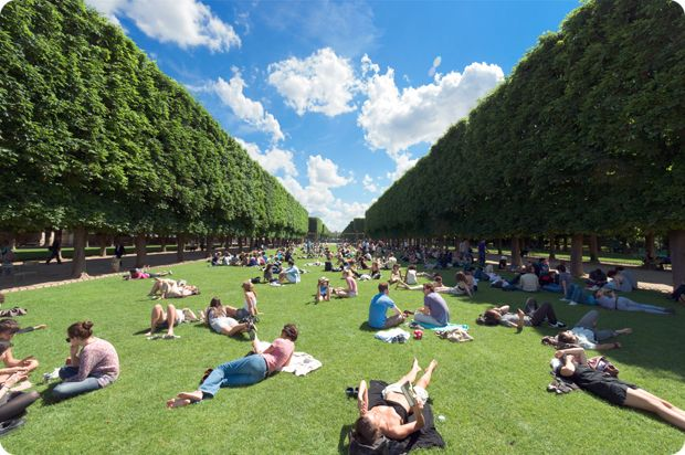 Luxembourg Gardens Paris France Feel Around Pinterest
