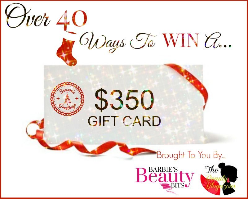 Over 40 ways to win a 350 gift card sephora gift card