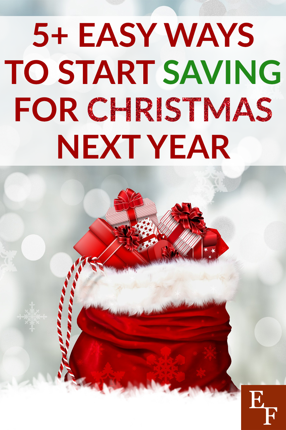 5 Easy Ways To Start Saving For Christmas Next Year Everything Finance Stocking Stuffers For Boys Christmas Savings Childrens Christmas Gifts