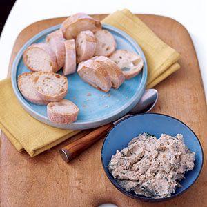 Quick No-Cook Paté | MyRecipes.com