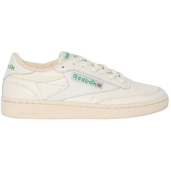 34fd2d51db9d5 Reebok Classics Women Club C 85 Vintage Leather Sneakers ( 125) ❤ liked on Polyvore  featuring shoes