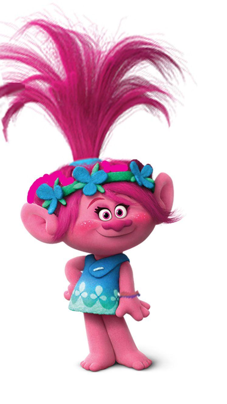 Poppy Is The Main Protagonist Of The Movies Trolls And The Main Protagonist Of It S Upcoming Sequel Trolls Princess Poppy Trolls Birthday Party Trolls Birthday