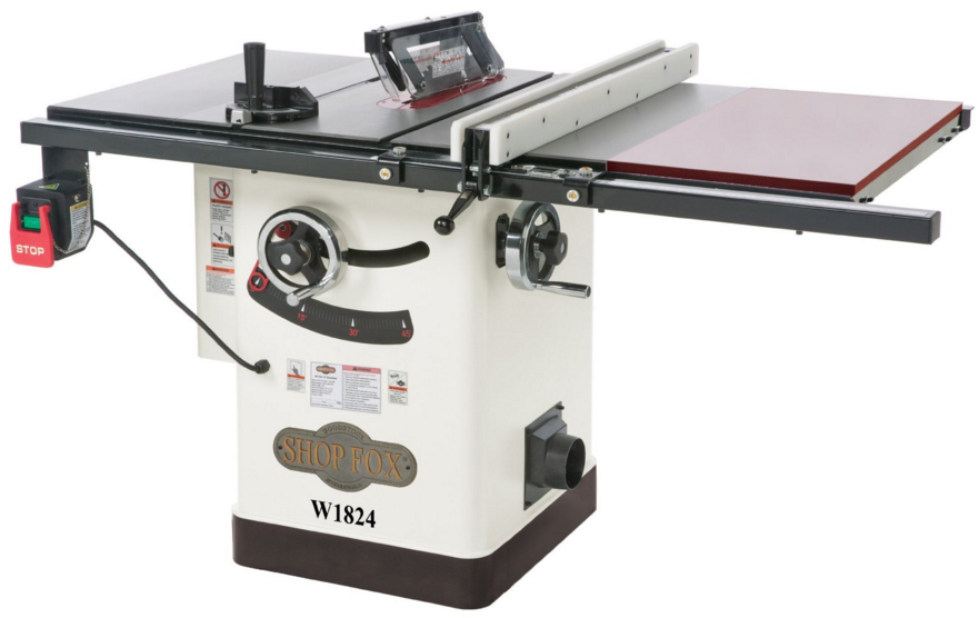 Fox W1824 Hybrid Table Saw With Extension Review 2017