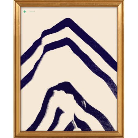 Add a pop of style to your foyer or dining room with this eye-catching framed giclee print, showcasing an abstract motif.   Product...