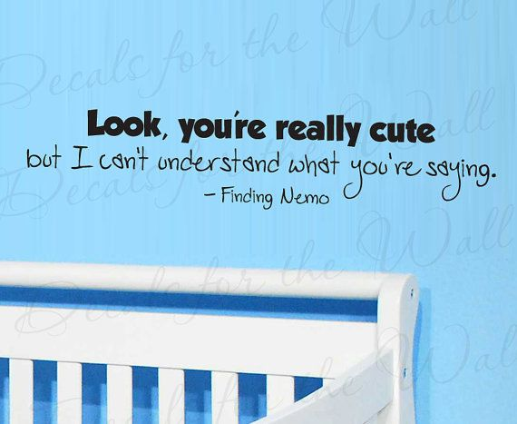 cute finding nemo quotes