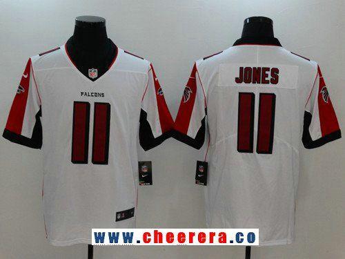 Men s Atlanta Falcons  11 Julio Jones White 2017 Vapor Untouchable Stitched  NFL Nike Limited Jersey 3fcd26f02