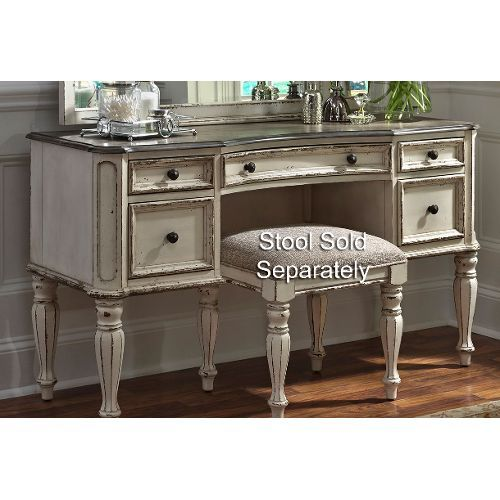 Antique White Traditional Vanity Desk Magnolia Manor Bathroom Plans Bedding
