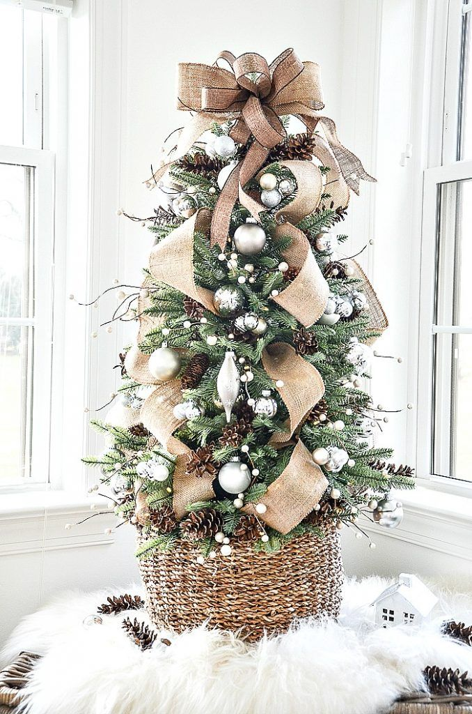HOW TO DECORATE A TABLETOP CHRISTMAS TREE LIKE A DESIGNER - StoneGable -   19 christmas tree 2020 simple ideas