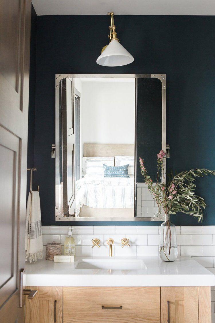 Dark paint ideas for bedroom  Promontory Project Downstairs Office  Pinterest  Dark bathrooms