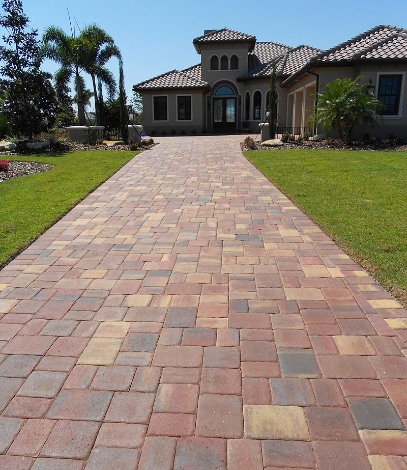 Different Types Of Driveway Surfaces Modern Driveway Fire Pit