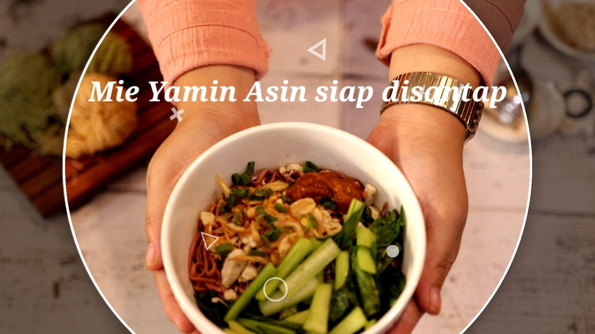 Mie Yamin Asin Resep