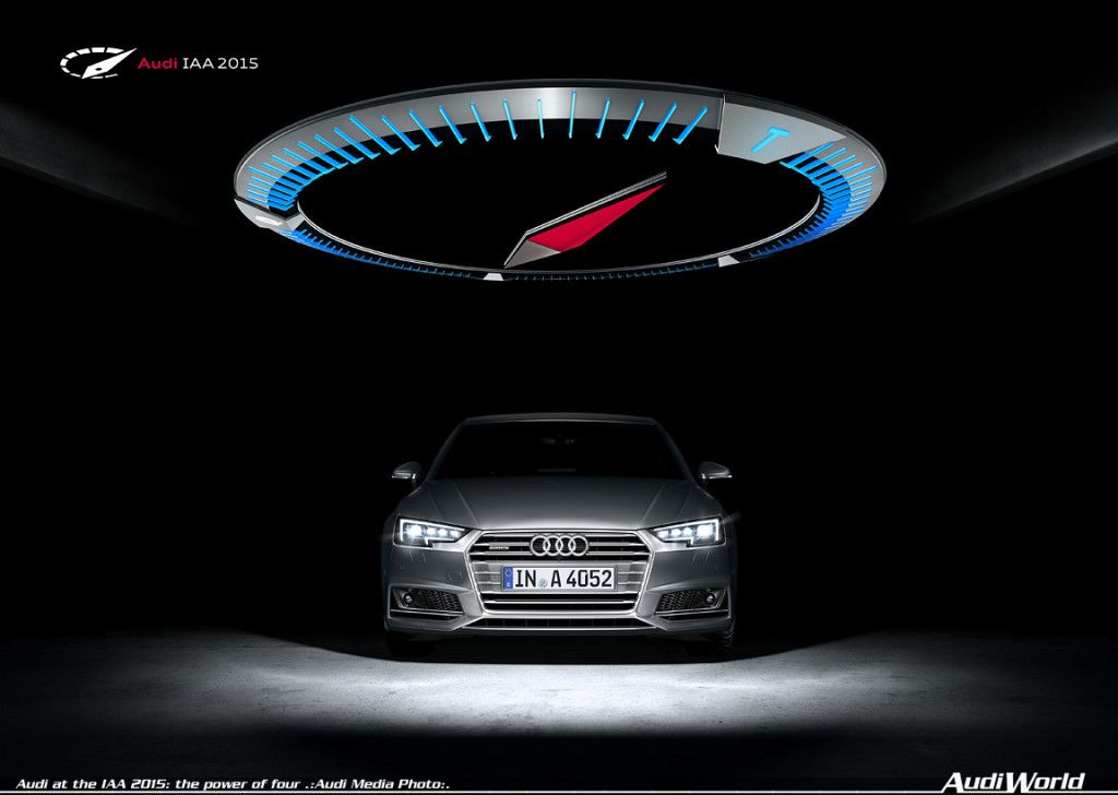 Audi at the IAA 2015 the power of four AudiWorld in