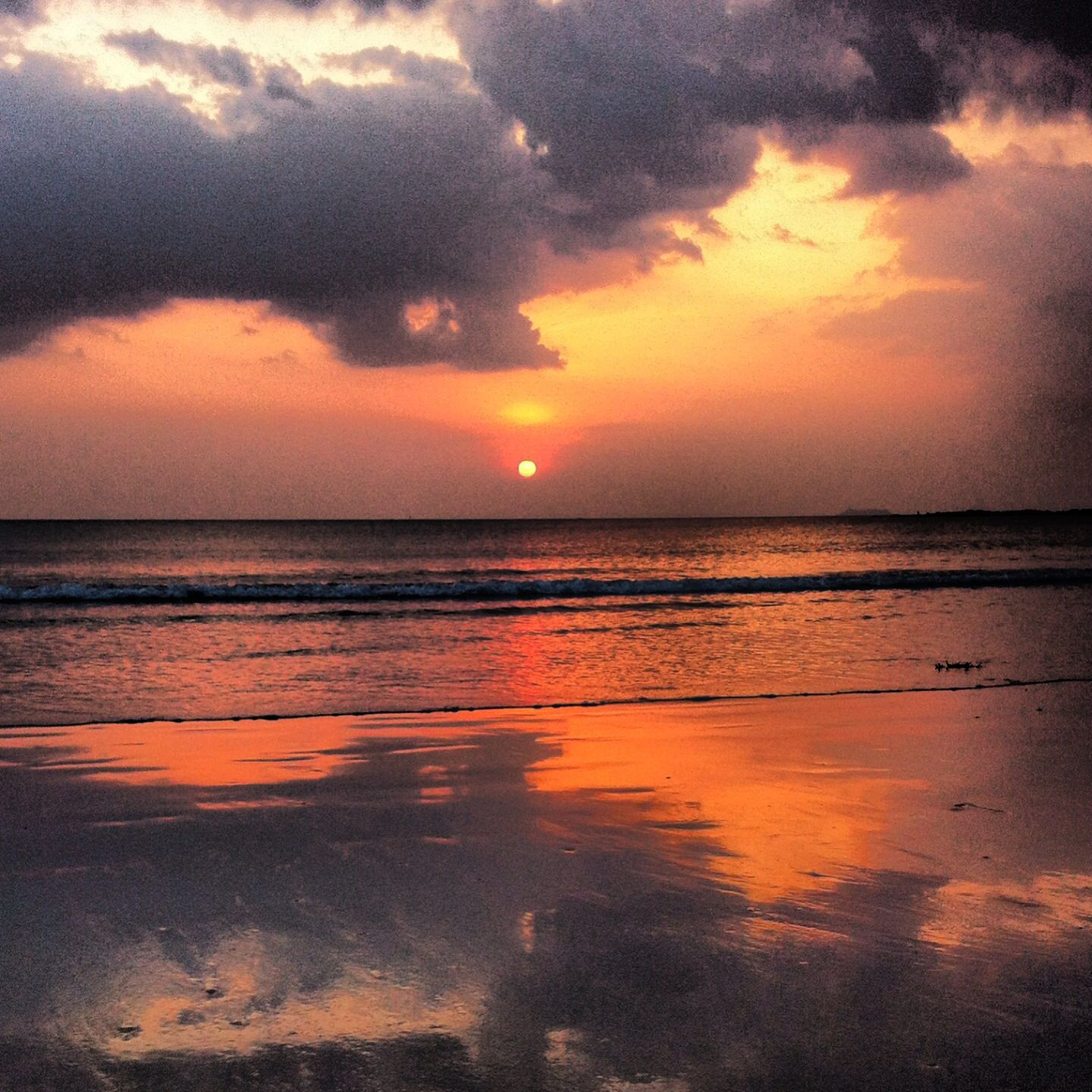 Sunset in Koh Lanta Island, Thailand. (With images