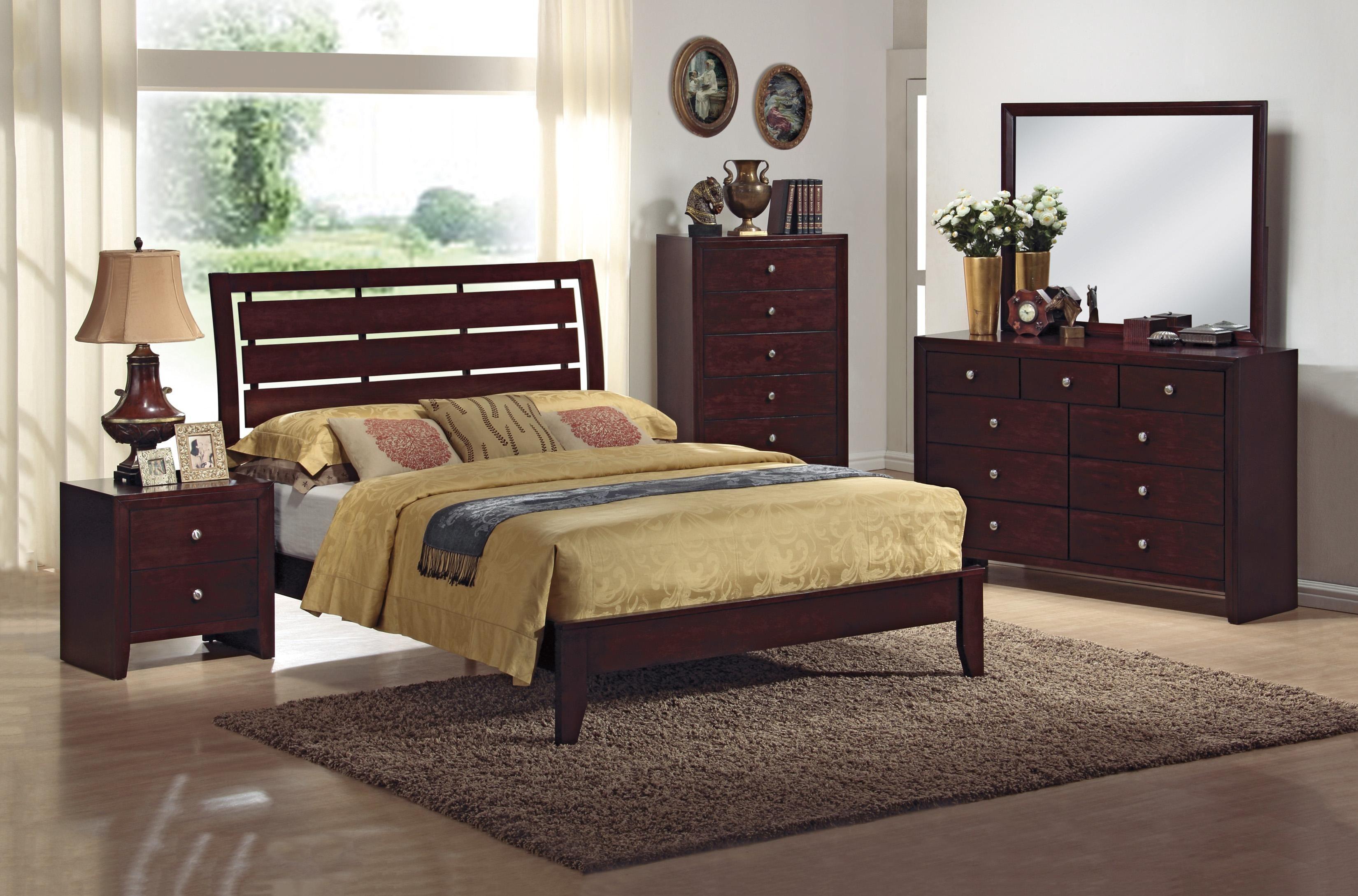 Evan Queen Bedroom Group by Crown Mark Bedroom sets