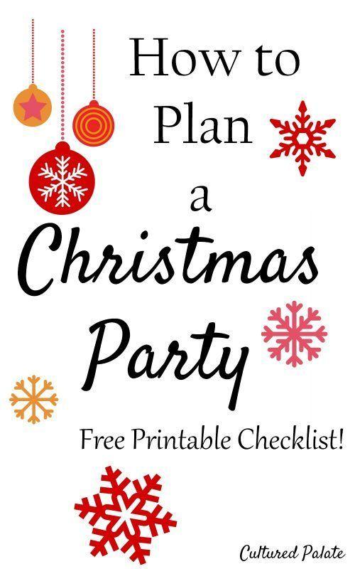 Photo of Wie man eine Weihnachtsfeier mit kostenlos druckbarer Checkliste hat
