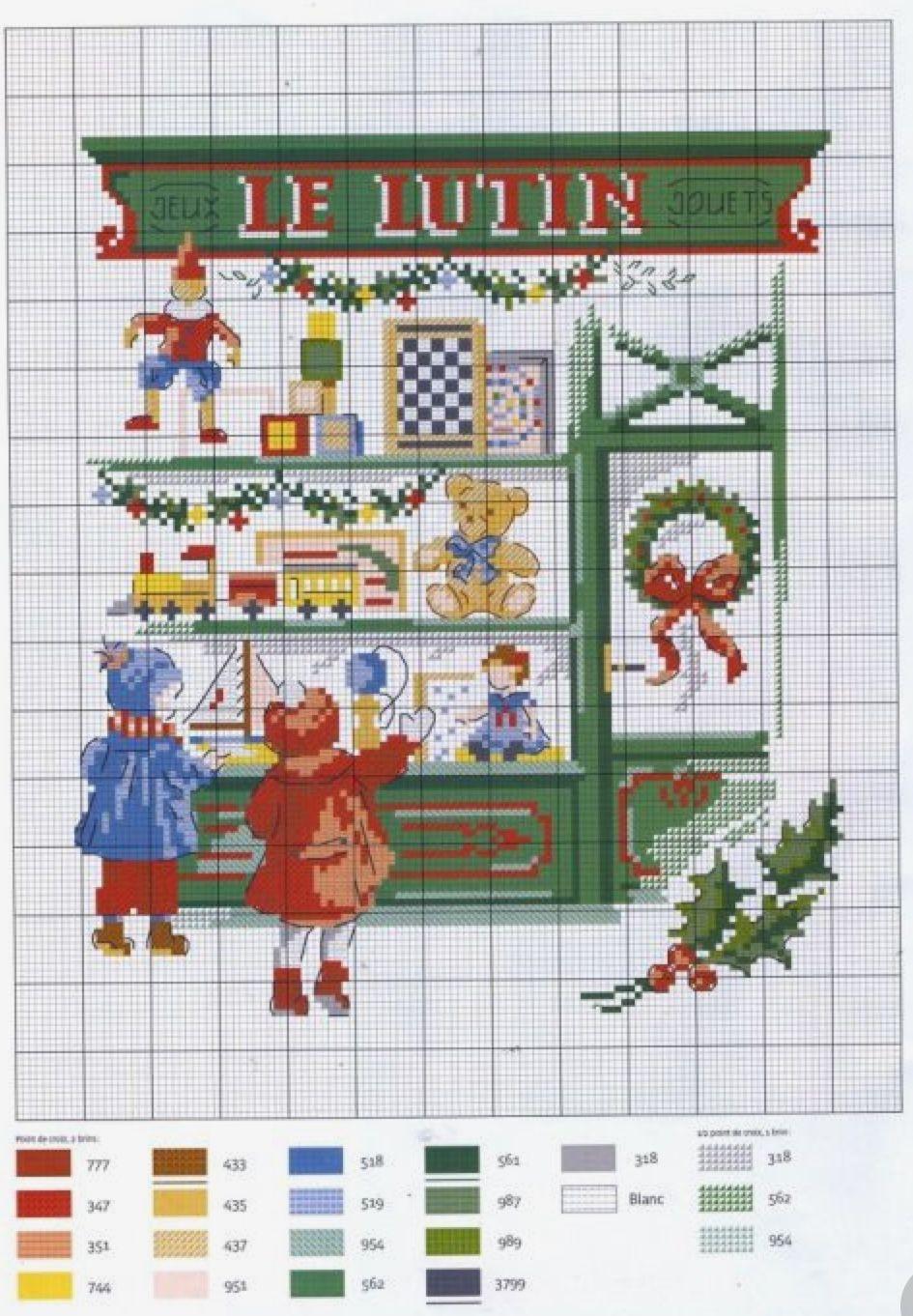 Pin von MyStitchWhisper auf Lovely Stitching ~ Christmas | Pinterest