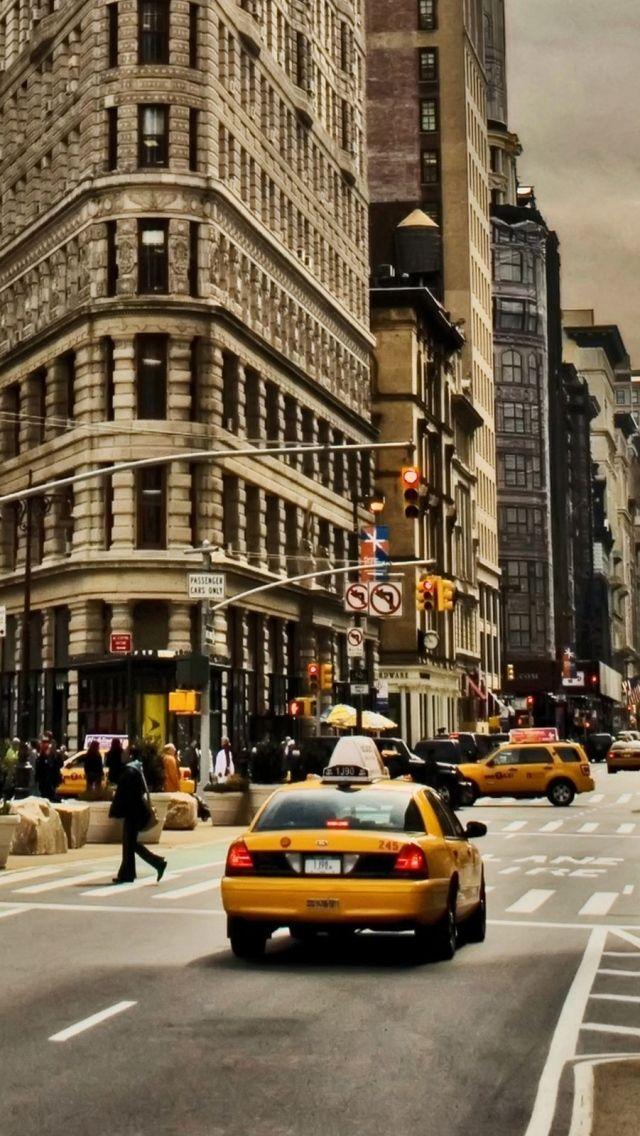 Car Parked At Night Wallpaper  Iphone 5s 5c 5 New York Wallpapers Hd Desktop
