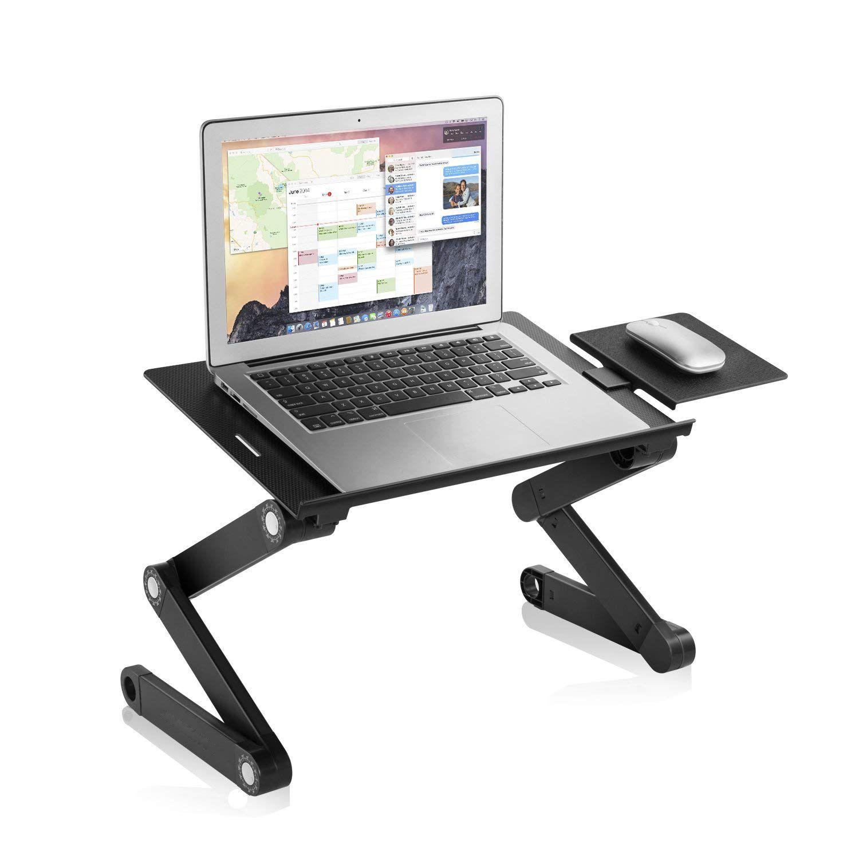 Laptop Table Stand Adjustable Riser, Notebooks Cozy Desk