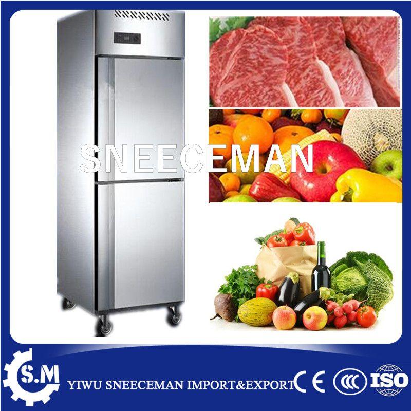Commercial Restaurant Stainless Steel 2 Door Upright Fridge Deep Freezer Industrial Freezer Affiliate Home Appliances Industrial Freezers Upright Fridge